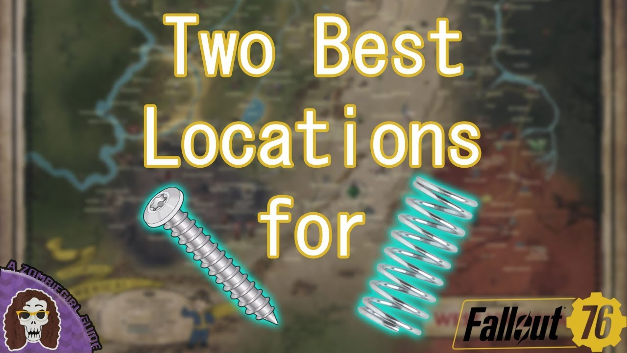 Guide: In Fallout 76 - How To Get Screws - fo76items com