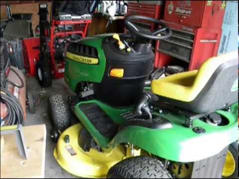 John Deere E100 Tractor Review