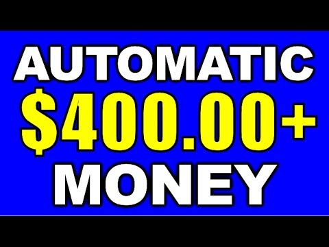 Earn $150-$400 Completely AUTOMATIC (No Work Needed!)