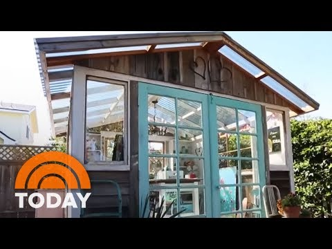 Introducing The 'She Shed': Women's Answers To The Man Cave | TODAY