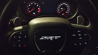 Installing a Back Lit SRT Air Bag in a 2015 Charger Hellcat
