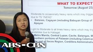Pagasa Holds Press Briefing
