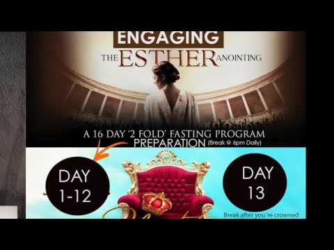 Engaging The Esther Anointing | Entry