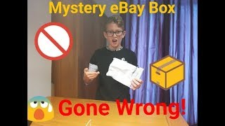 Opening eBay mystery box (Gone Wrong)