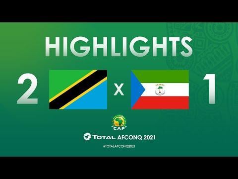 HIGHLIGHTS   #TotalAFCONQ2021   Round 1 - Group J: Tanzania 2-1 Equatorial Guinea