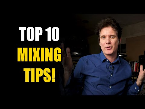 Top 10 MIXING TIPS I do on every mix!