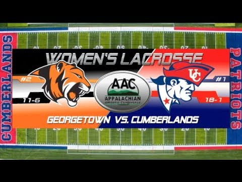 University of the Cumberlands - Women's Lacrosse vs. Georgetown College - AAC Tournament 2018
