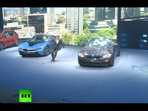 BMW CEO faints during news conference at Frankfurt Auto Show
