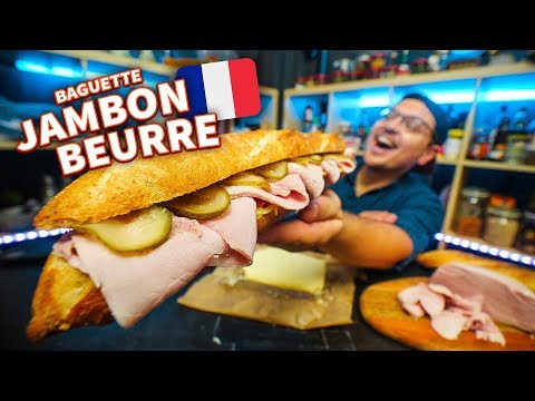 Baguette Jambon Beurre: Making France's #1 Sandwich From Scr