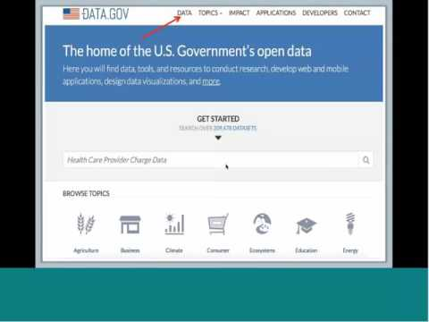 The APIs of Data.gov