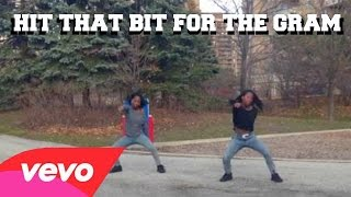 HIT THAT BIT FOR THE GRAM - Mighty Mike Dance Cover Twin Version #HitThatBitForTheGramChallenge