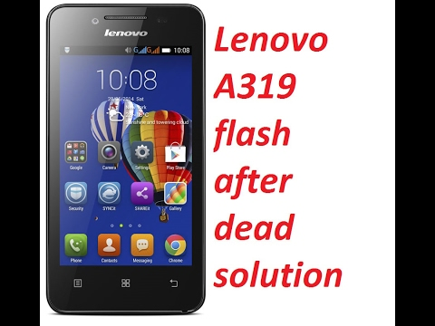 flash firmware lenovo a319