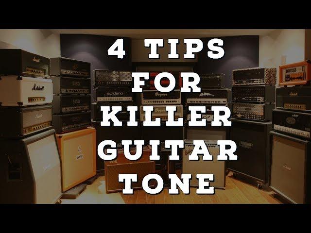 4 Tips for Killer Guitar Tones | Hughes and Kettner | Black Spirit 200 | Steve Stine