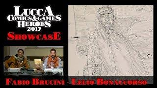 [Lucca Comics & Games] Showcase: Fabio Brucini - Lelio Bonaccorso