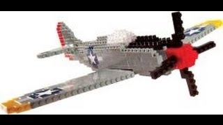 Giveaway And Review: Nanoblock P-51 Mustang Building Block Set And Model