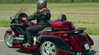 Honda Goldwing Trike ( 3 roues ) | Action moteur sport MOTO