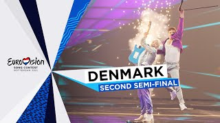 Fyr Og Flamme - Øve Os På Hinanden - LIVE - Denmark 🇩🇰 - Second Semi-Final - Eurovision 2021