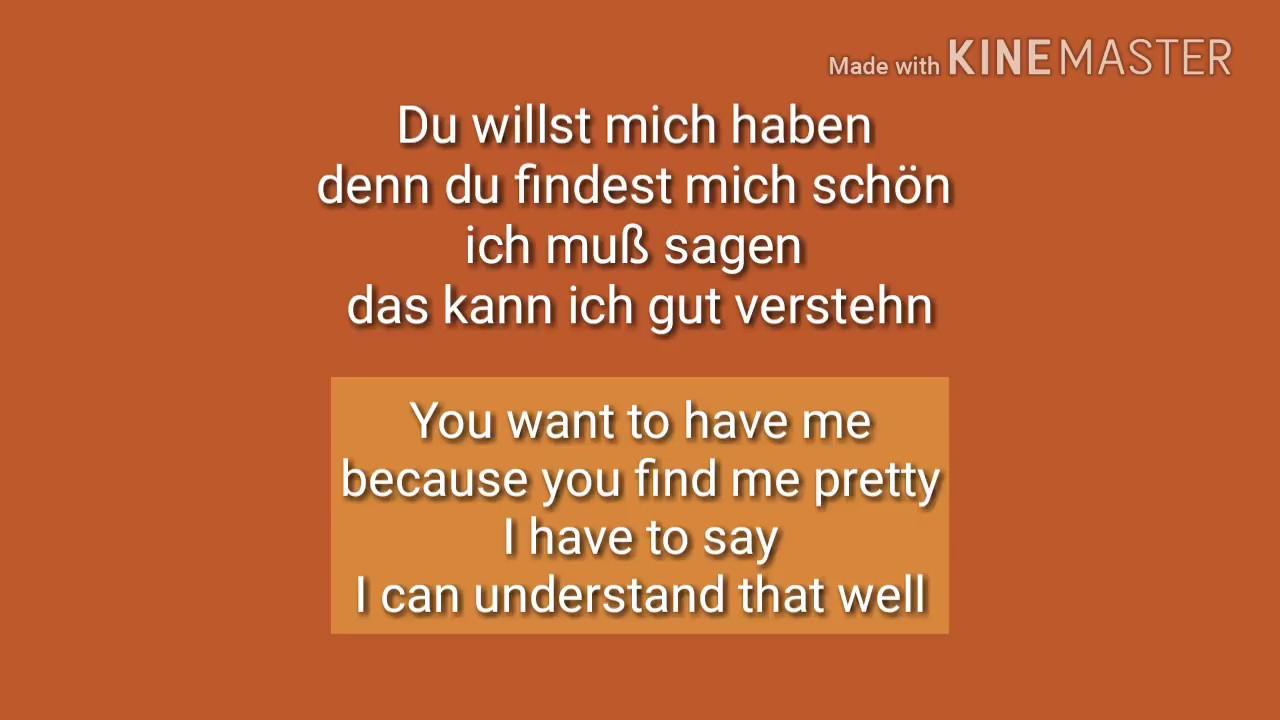prinzen küssen verboten lyrics