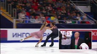 Виктория Синицина - Никита Кацалапов. Произвольный танец. Танцы. За кадром. Rostelecom Cup