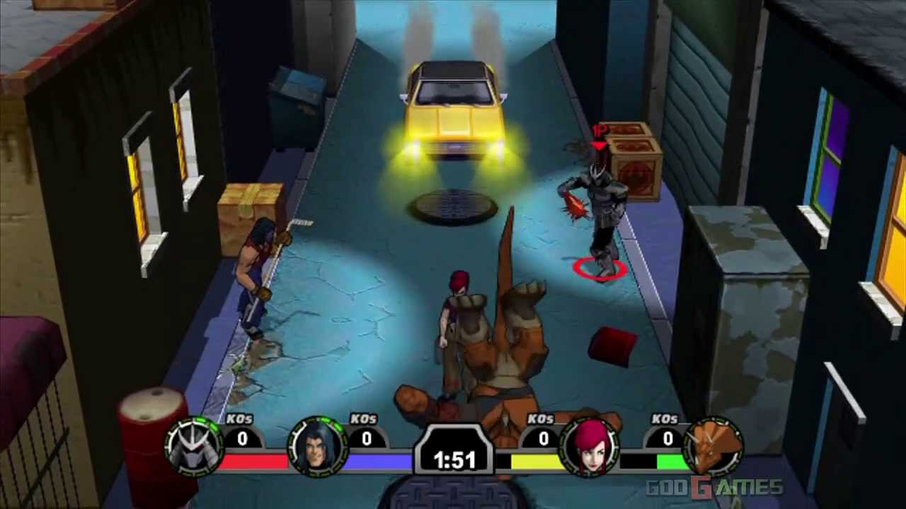 TMNT Mutant Melee Gameplay Xbox HD 720P YouTube
