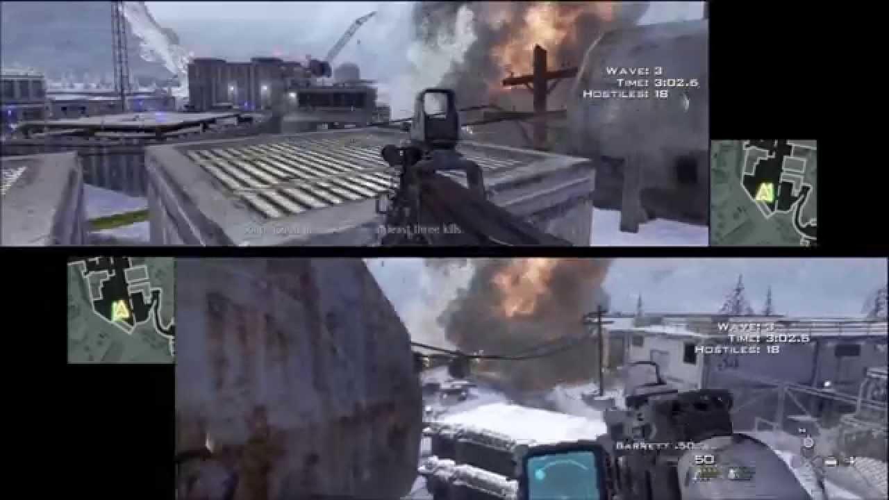 Call Of Duty Modern Warfare 2 Spec Ops - Sniper Fi - 3 Stars Co-op  Splitscreen