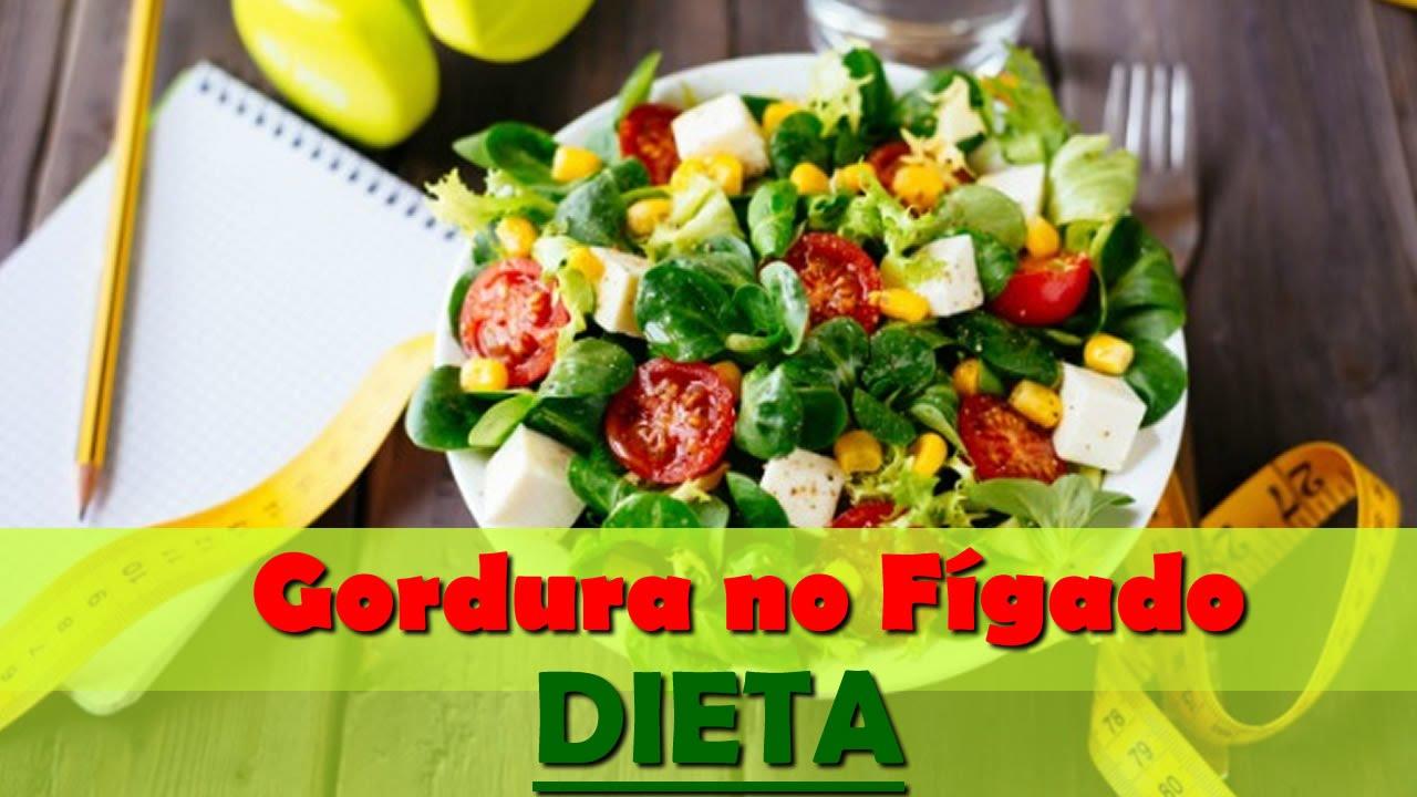 dieta para figado gordo cardapio