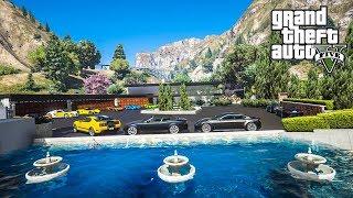 แมนชั่นปาร์ตี้สุดหรูกลางทะเลสาบ (Luxury Party Mansion MOD GTA5)