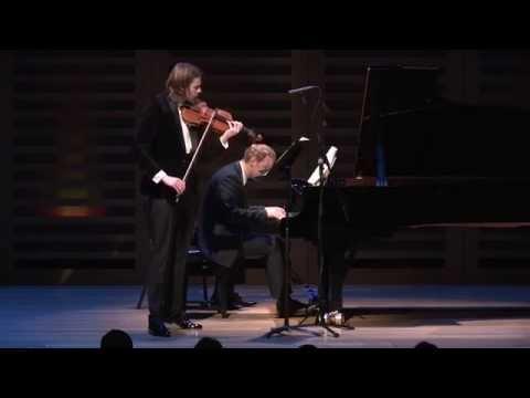 Thomas Gould and Alasdair Beatson Play Beethoven Kreutzer Sonata 1st Movt