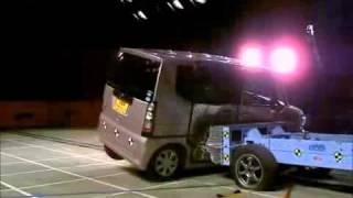 Crash Test 2011 - Honda N-Box (Side Impact) Jncap
