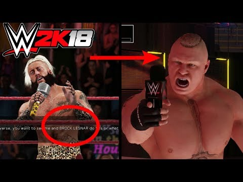WWE 2K18: Never Call Out And Taunt Brock Lesnar 3 Times Or This Will Happen!