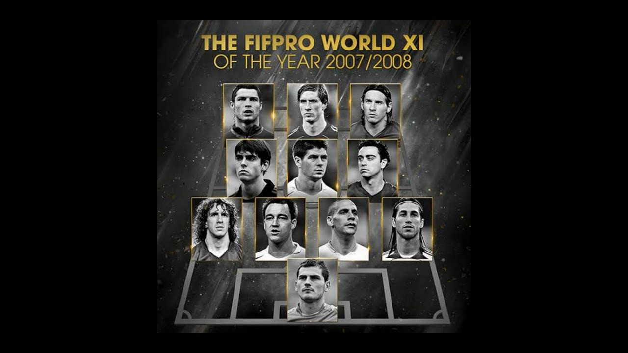 FIFA FIFPRO MEN'S WORLD11 2008