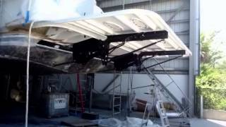 100 Ft Boat With Dinghy Lift & Tender Lift