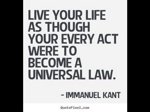 an analysis of the universal law formation of the categorical imperative proposed by kant Essay on utilitarianism  and immanuel kant 's 'categorical imperative ' ethical theory  the universal law formation of the categorical imperative.