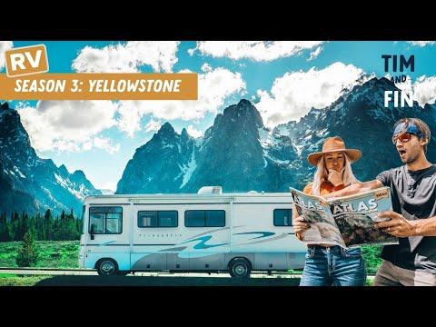 WHAT BEAR IS BEST 🤓 RV Road Trip through Yellowstone + Grand Teton NP