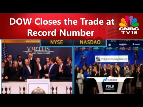 DOW Closes the Trade at Record Number | Earnings Alert | CNBC TV18
