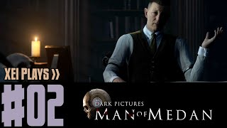 XEI Plays The Dark Pictures: Man of Medan (Blind) #2 | Co-Op with Angel Arts