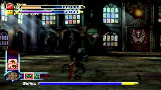 Castlevania Curse Of Darkness - Trevor Belmont Boss Fight 1