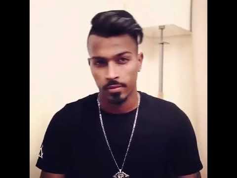 Hardik pandya hairstyle - YouTube