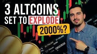 Top 3 Altcoins Ready To EXPLODE in September 2021  BEST Crypto NOW! HUGE UPSIDE?!(DONT MISS THIS)