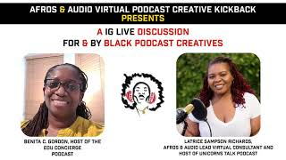 Afros & Audio IG Live - March 17, 2021