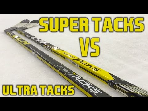 CCM Hockey Super Tacks VS Ultra Tacks Stick Review – What is the real  difference