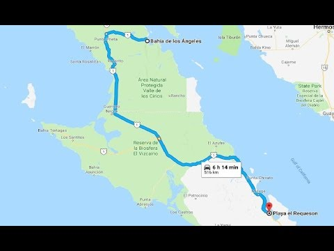 Bahia De Los Angeles Map.Las Cronicas De Baja 2018 Ep 3 Bahia De Los Angeles To Bahia