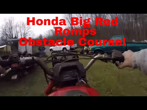 No Start Honda Big Red 250, Diagnostics, Repair, and GoPro Romp!