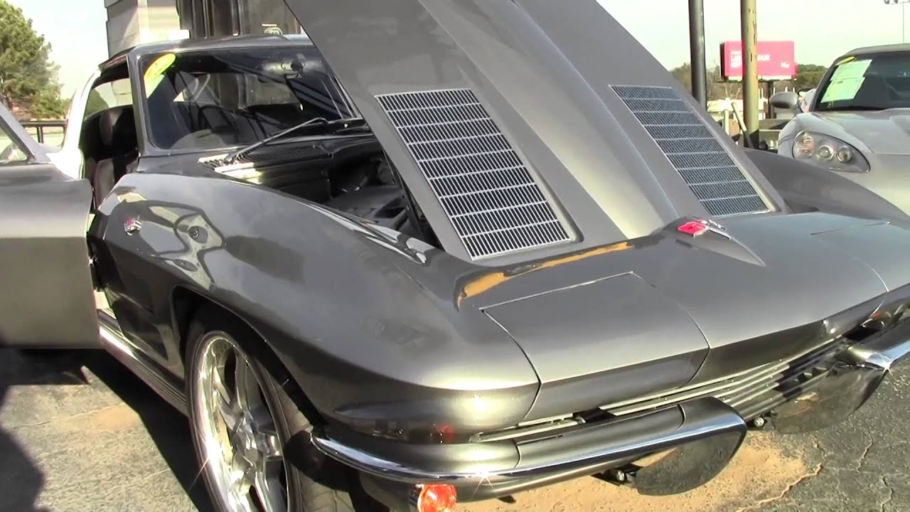 1963 Corvette Ls3 Split Window Coupe Restomod Youtube