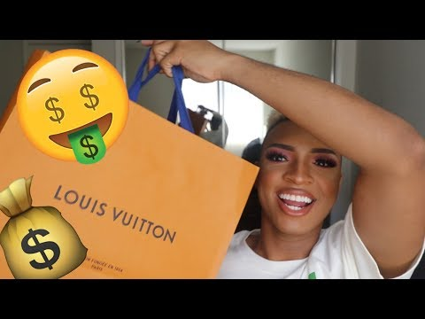 $4,000 LOUIS VUITTON HANDBAG!