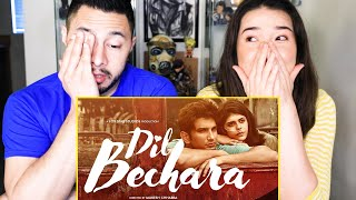 DIL BECHARA | Sushant Singh Rajput | Sanjana Sanghi | Mukesh Chhabra | AR Rahman | Trailer Reaction
