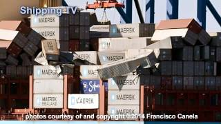 World record? 520 containers overboard from Svendborg Maersk