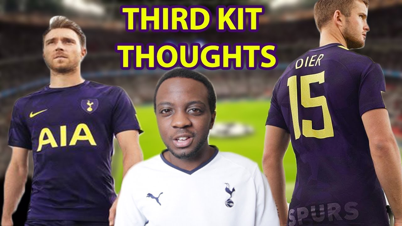 newest 1fd0b 6f477 New Spurs 17/18 third kit reaction and thoughts