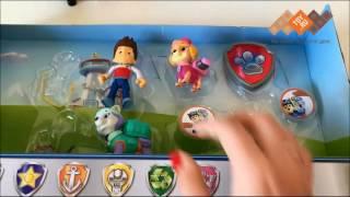 Обзор игрушки: Paw Patrol 16613 Щенячий патруль Набор из 6 щенков с рюкзаком-трансформером