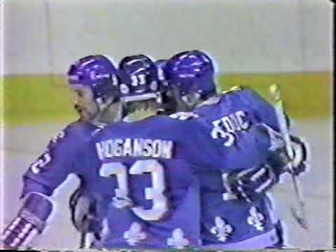 1980 Quebec Nordiques (Canada)- CSKA (Moscow, USSR) 4-6 Friendly hockey match (Super Series)